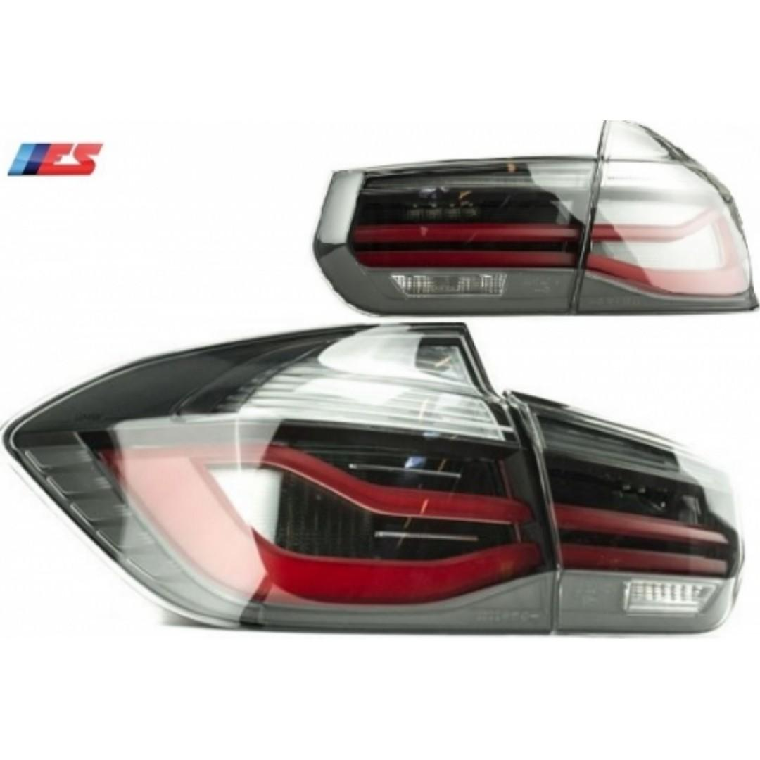 BMW 3 Series Black Taillights