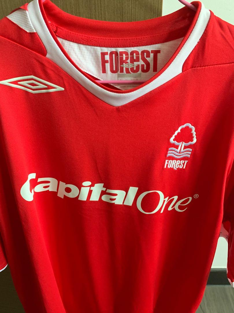 BRAND NEW NO TAGS NOTTINGHAM FOREST UMBRO RETRO JERSEY SIZE XL