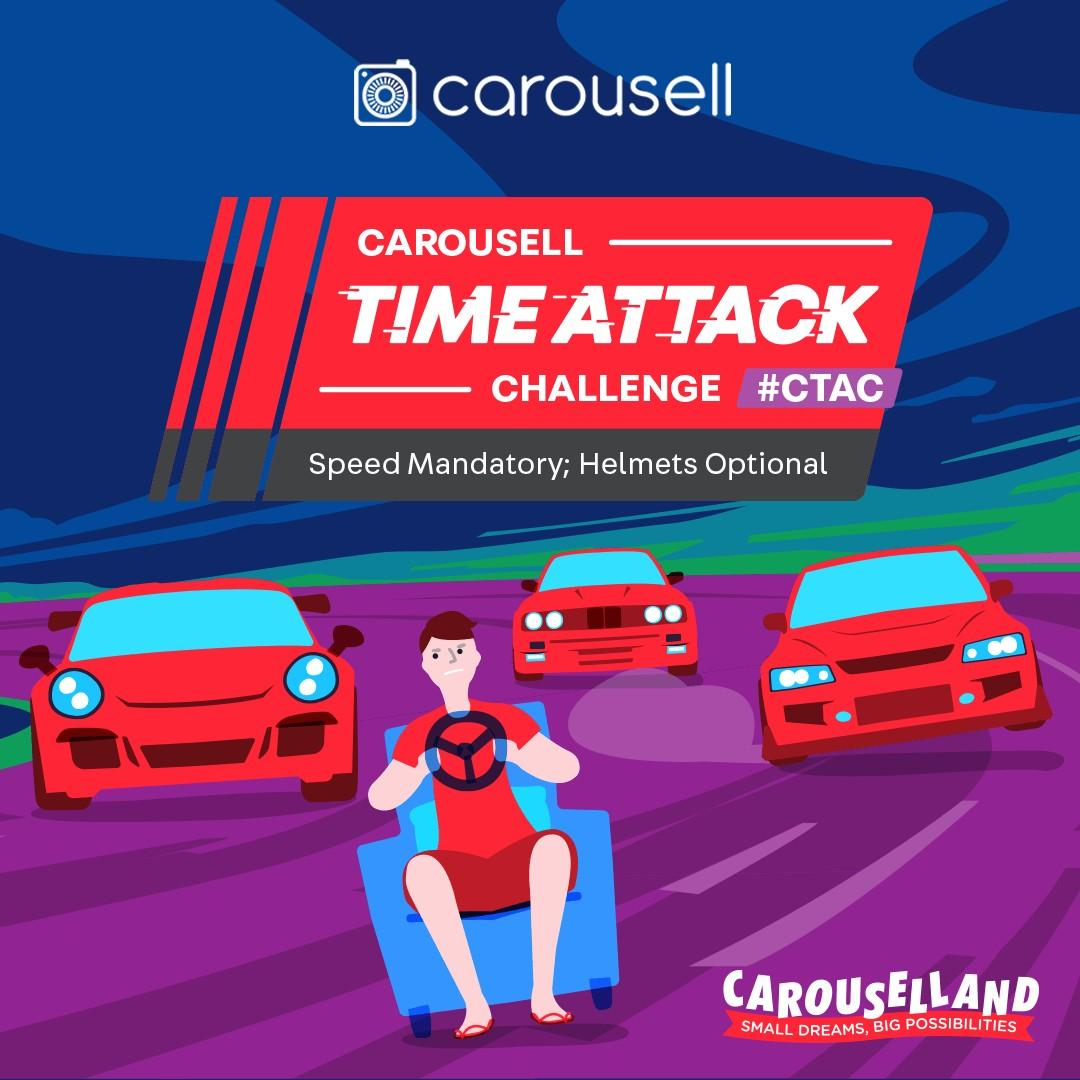 Carousell Time Attack Challenge #CTAC @ Carouselland