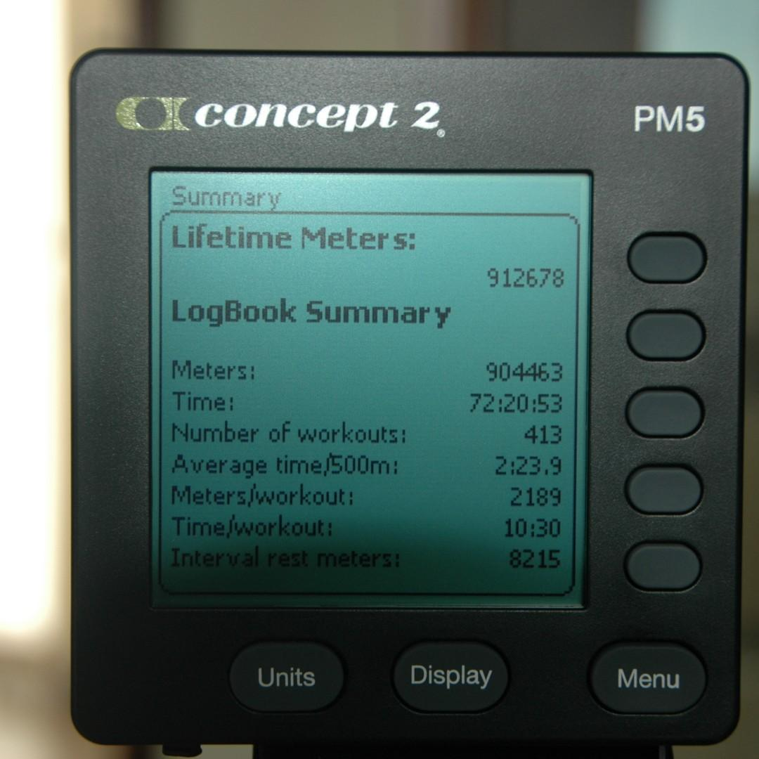 Concept 2 Indoor Rowing Machine - D Model with Bluetooth Performance Monitor PM5