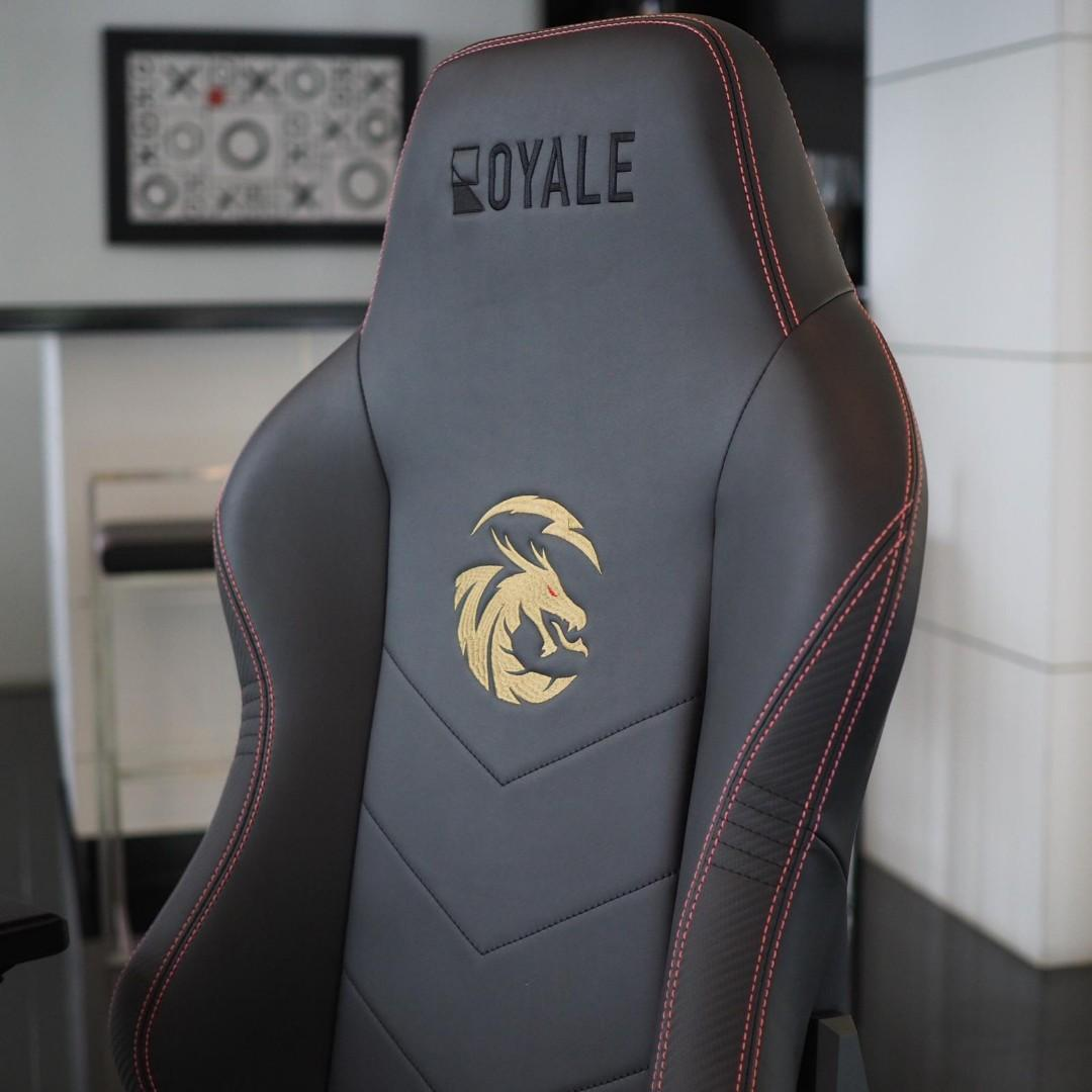 Customisable Logos & Colours Automotive-grade Materials Gaming Chair by Royale