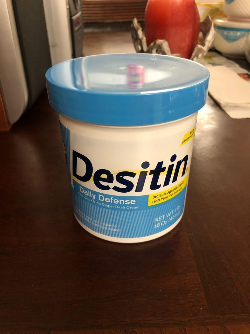 Desitin Diaper rash cream and Balmex Complete Protection Cream