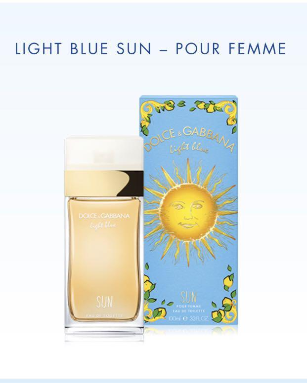 Dolce & Gabbana Limited Edition Light Blue Sun 100 mL (pick up only)