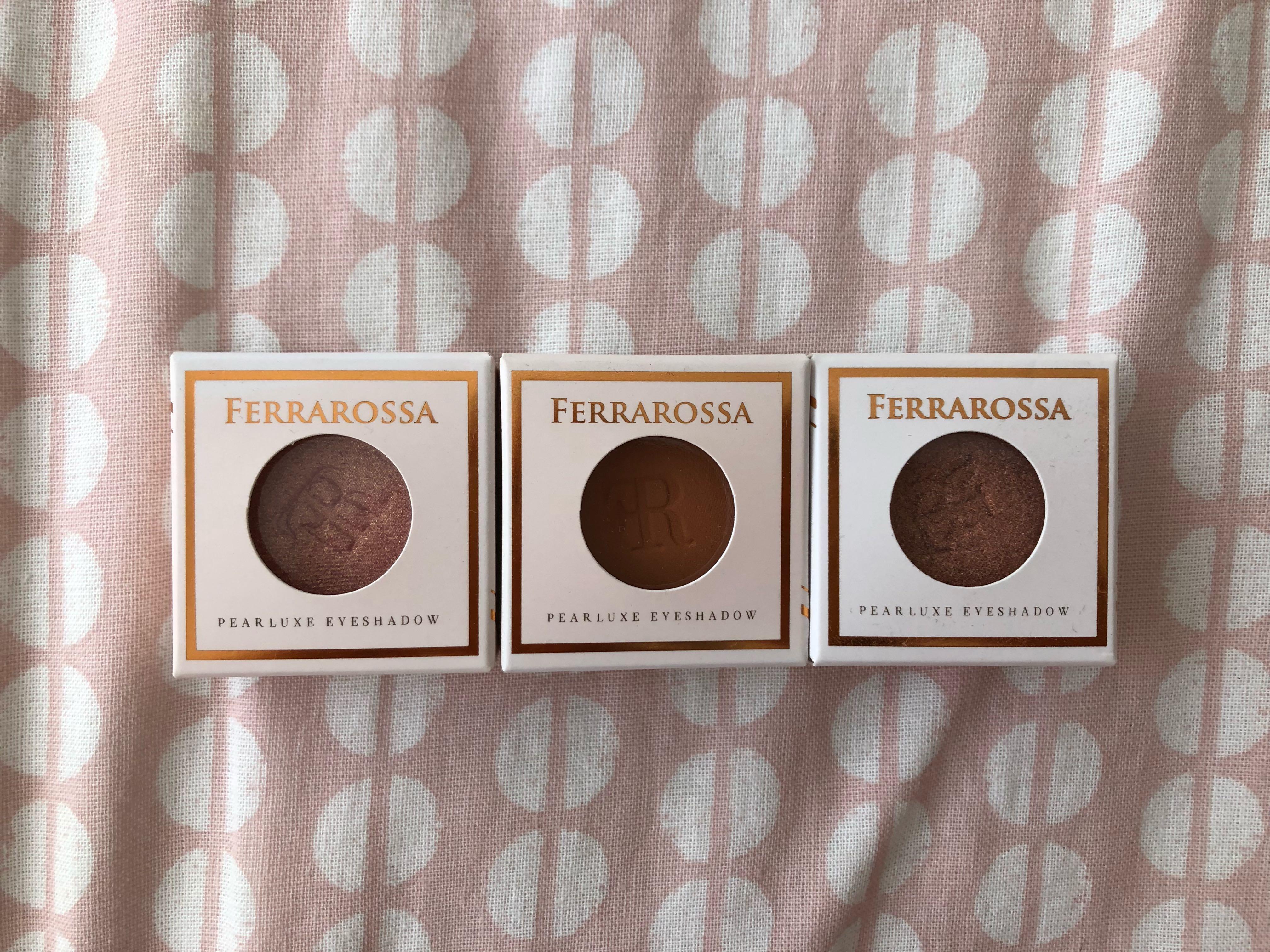 Ferrarossa Pearluxe Eyeshadows Fairytale Collection (3 shade)