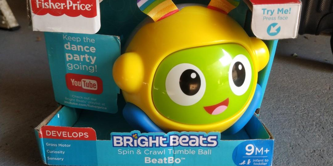 "Fisher & Price ""Bright Beats Spin & Crawl Tumble Ball"""