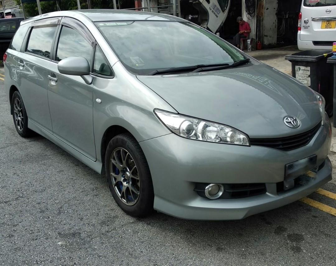 For Grab/GOJEK - Toyota Wish 1.8A X