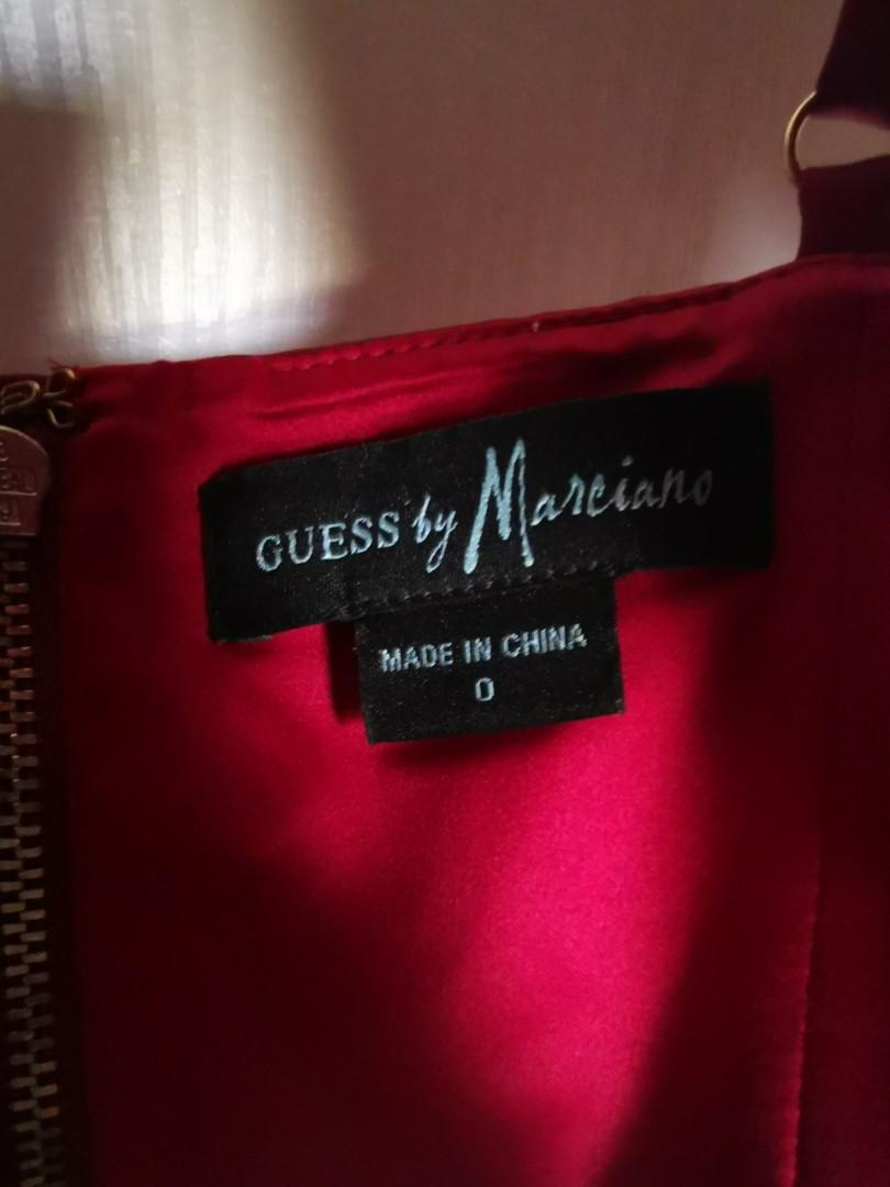 Guess Red Crop Tank