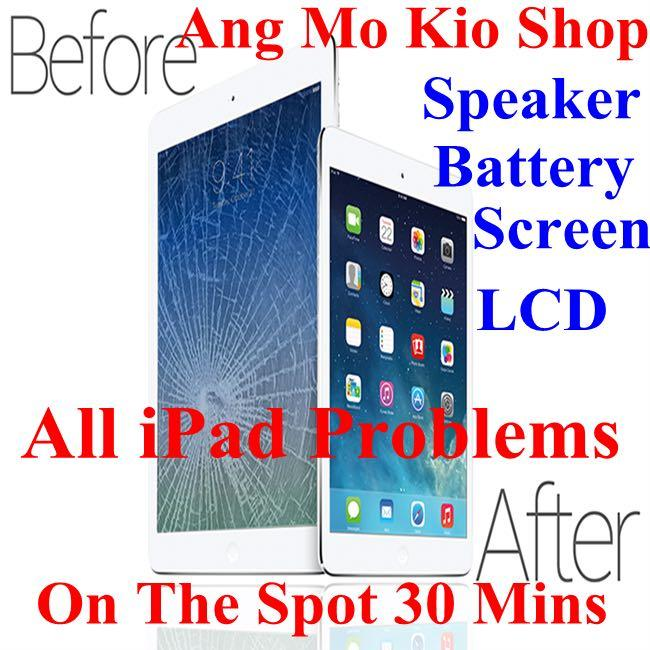 iPad Repair, iPad Screen Repair, iPad Battery, iPad cant' On