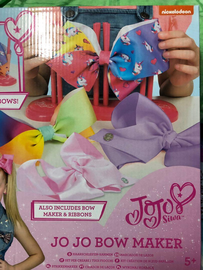 JOJO SIWA bow maker, Toys & Games, Others on Carousell