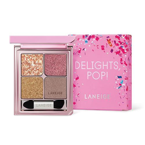 Laneige Ideal Shadow Quad (holiday edition delights pop)