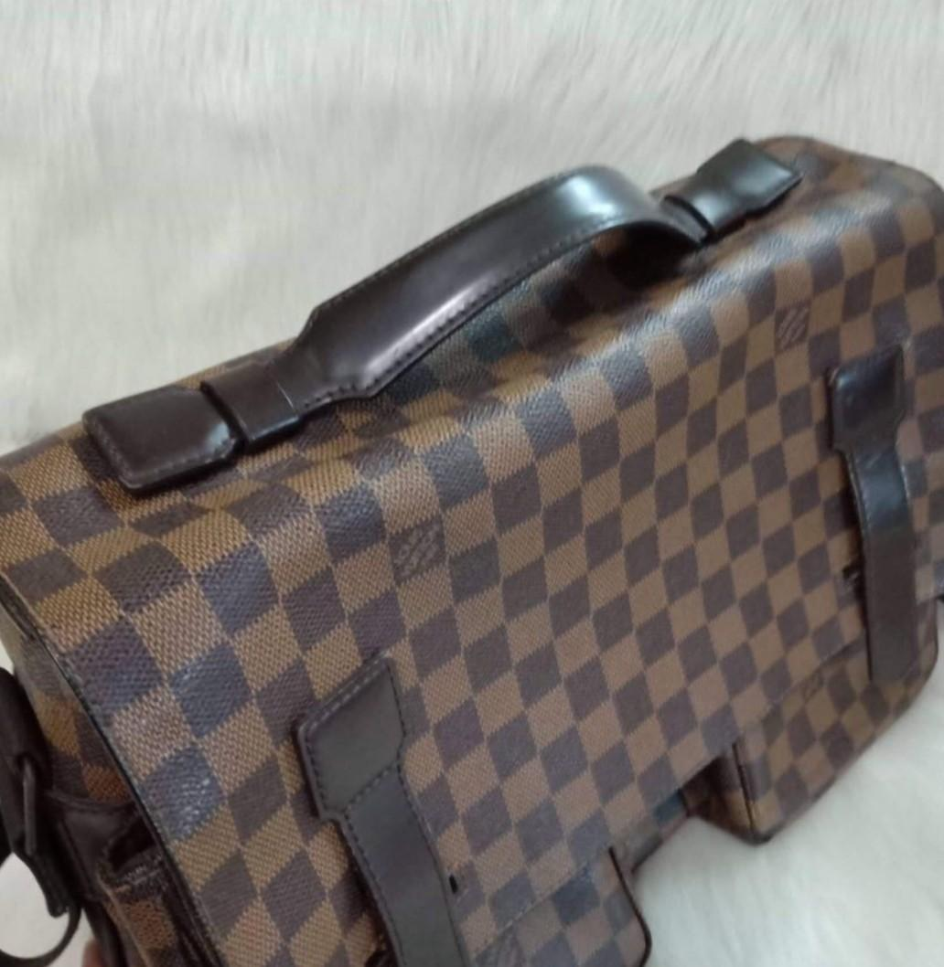 Louis Vuitton Damier Ebene Canvas Broadway Messenger Bag