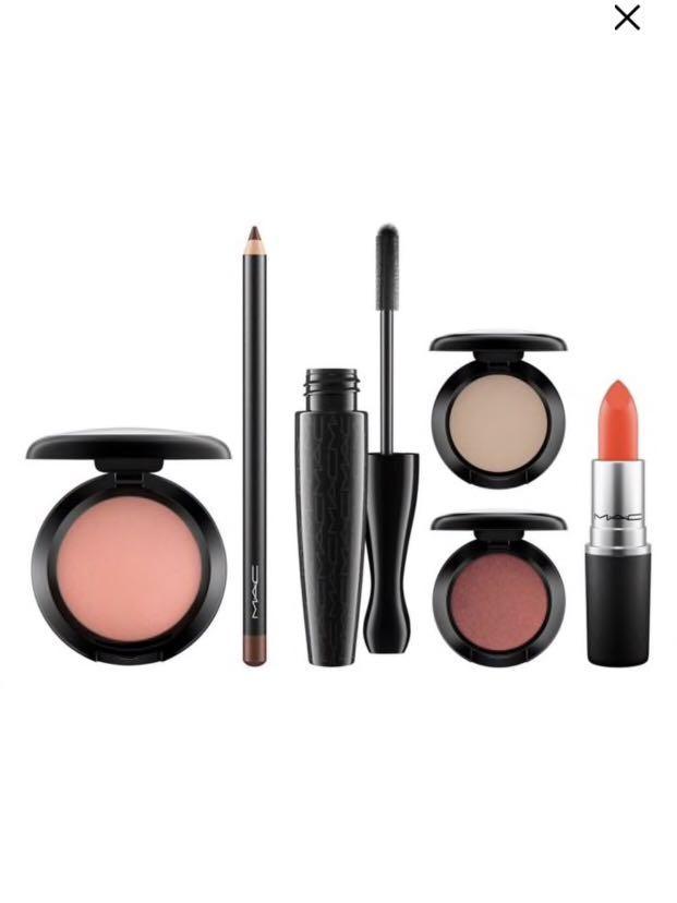 MAC Cosmetics x @chermycloset 6-piece set (pick up only)
