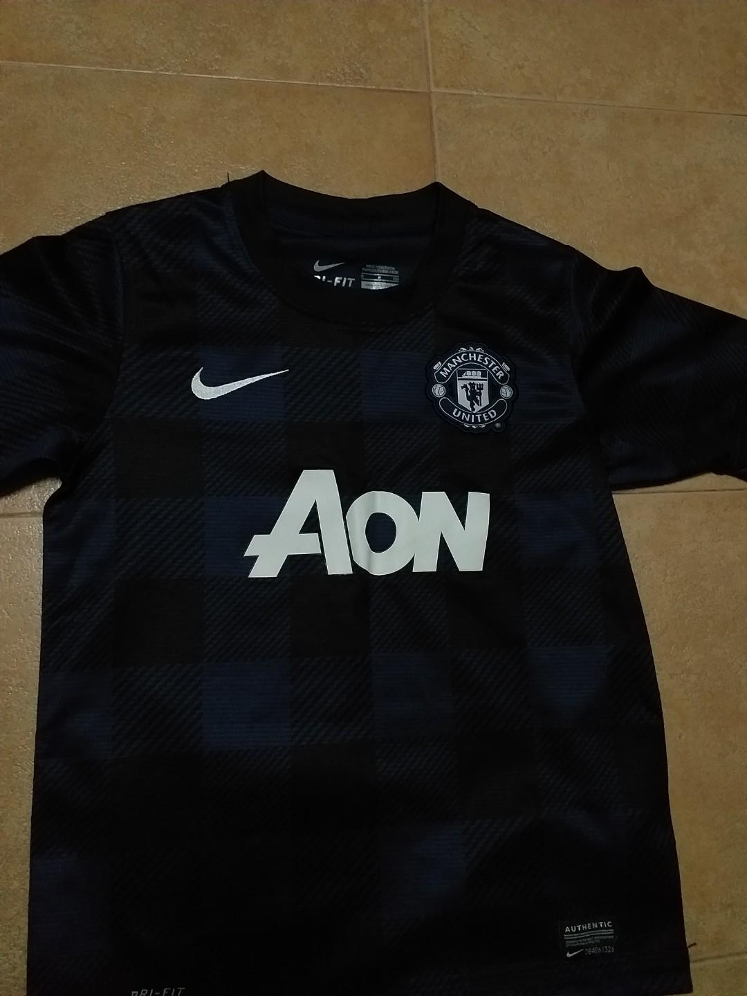 manchester united 100% authentic jersey