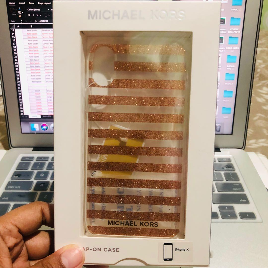 Michael Kors Mk Iphone X Xs Case Mobile Phones Tablets