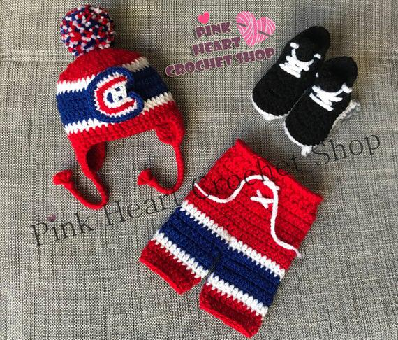 Montreal Canadiens baby outfit
