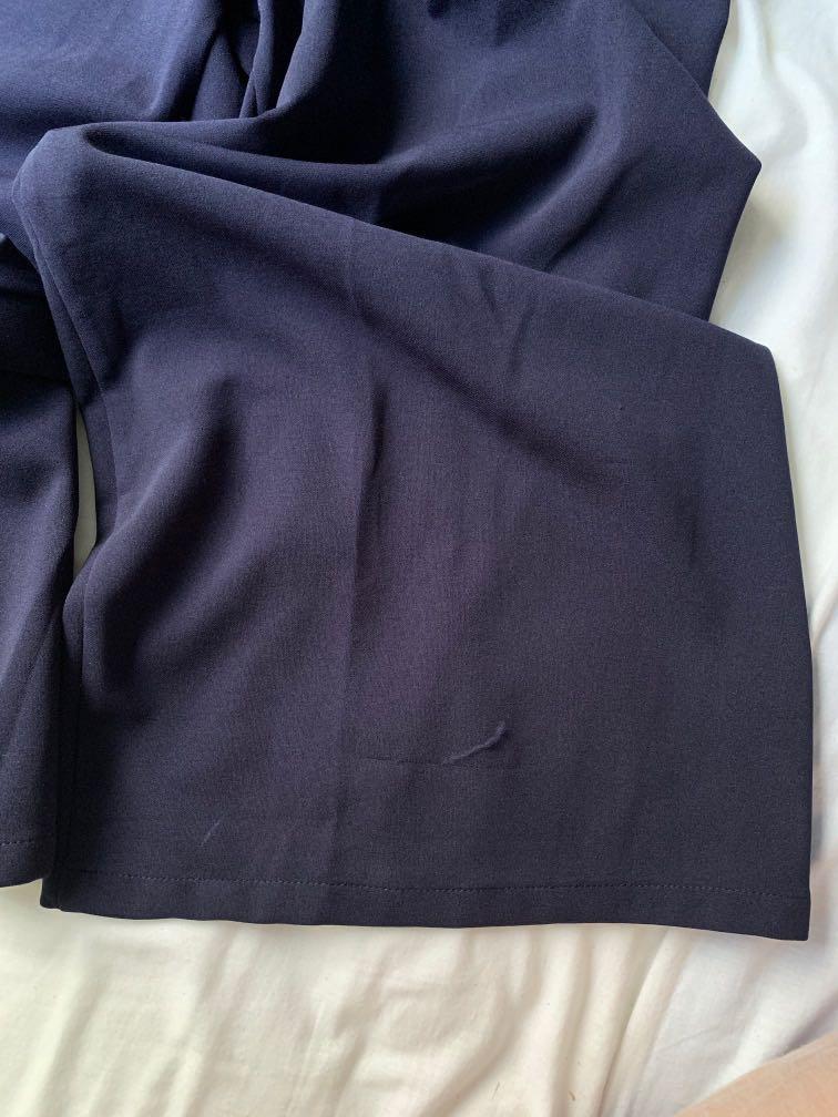 Navy jumpsuit