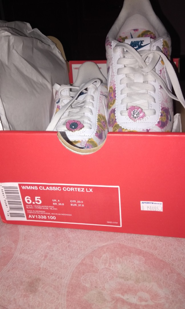 Nike classic Cortez LX floral, Women's