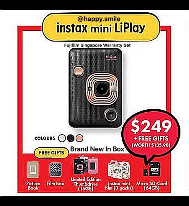 August Sale ! Fujifilm Instax LiPlay on Carousell