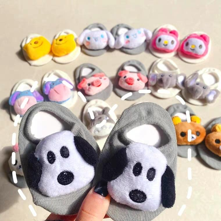 Pooh/ Rilakkuma/ Cinnamoroll Etc Baby Socks 0-24 Months Old