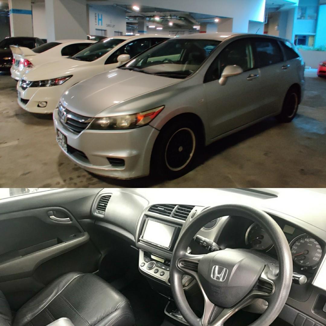 [Rental] Honda Stream 7seater