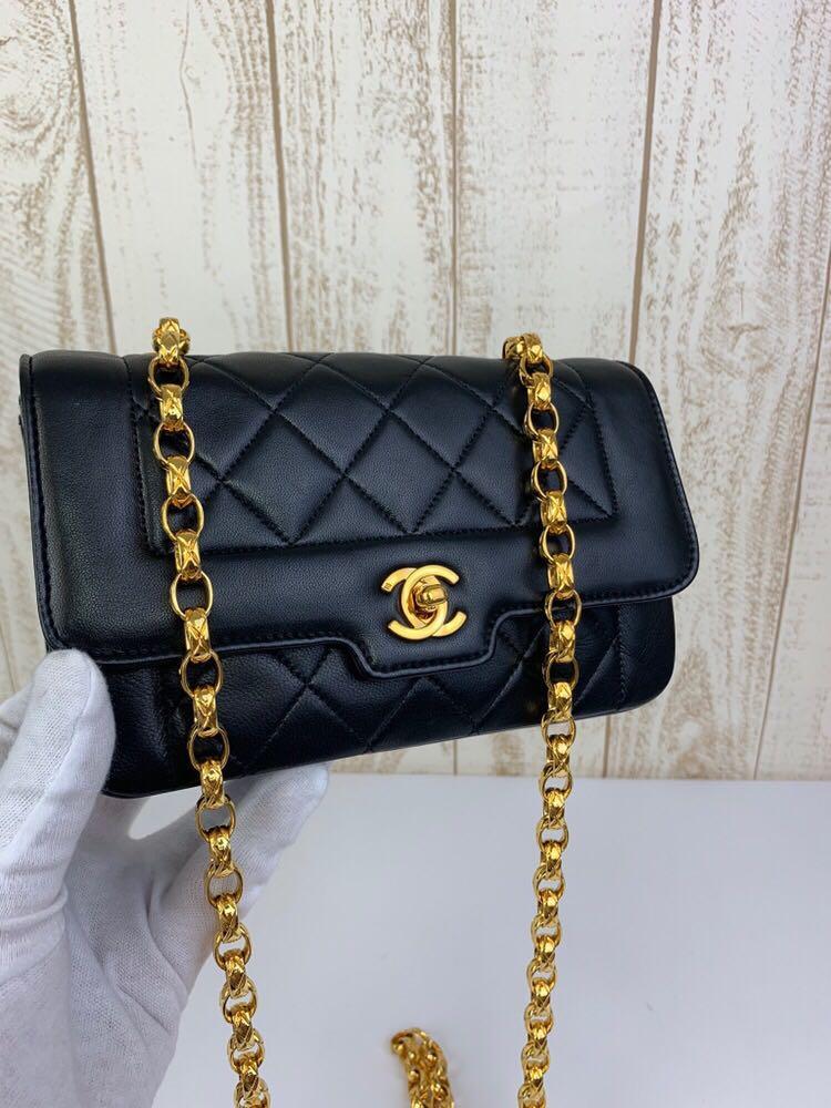 Super Elegant Chanel Diana Flap