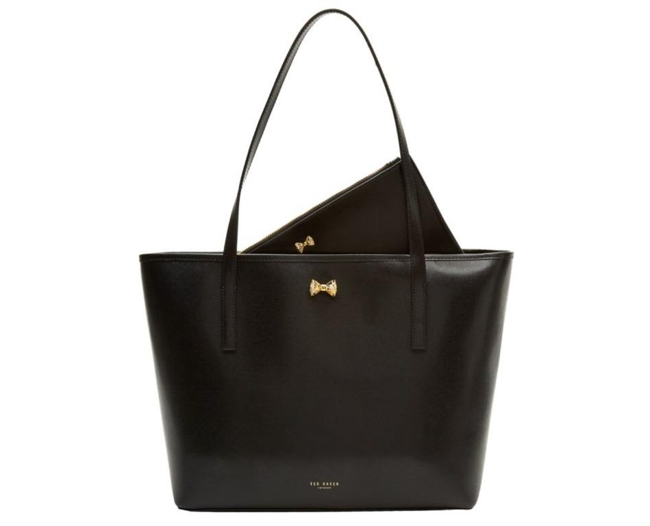 RRP $350 Ted Baker Artina Shopper Tote Bag Leather