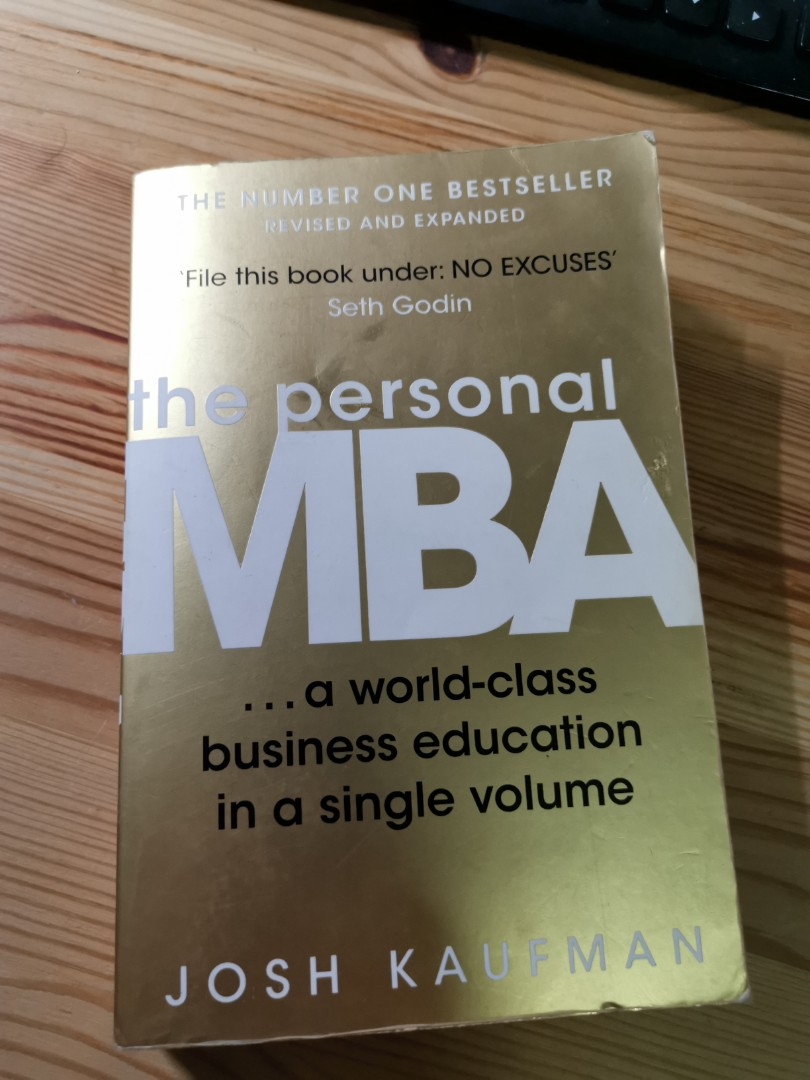 The Personal MBA by Josh Kaufman on Carousell