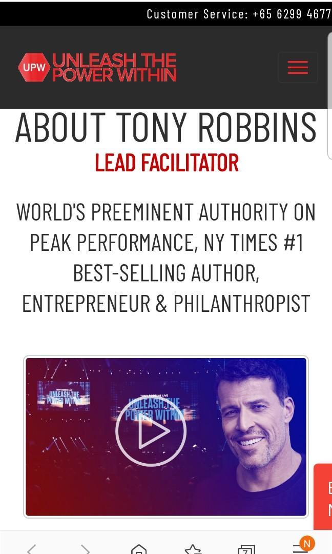 Tony Robbin-Unleash the Power within