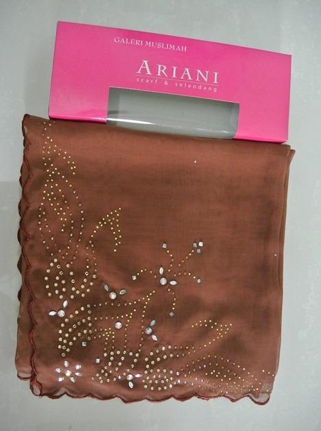 Tudung Bawal Ariani (Brown)