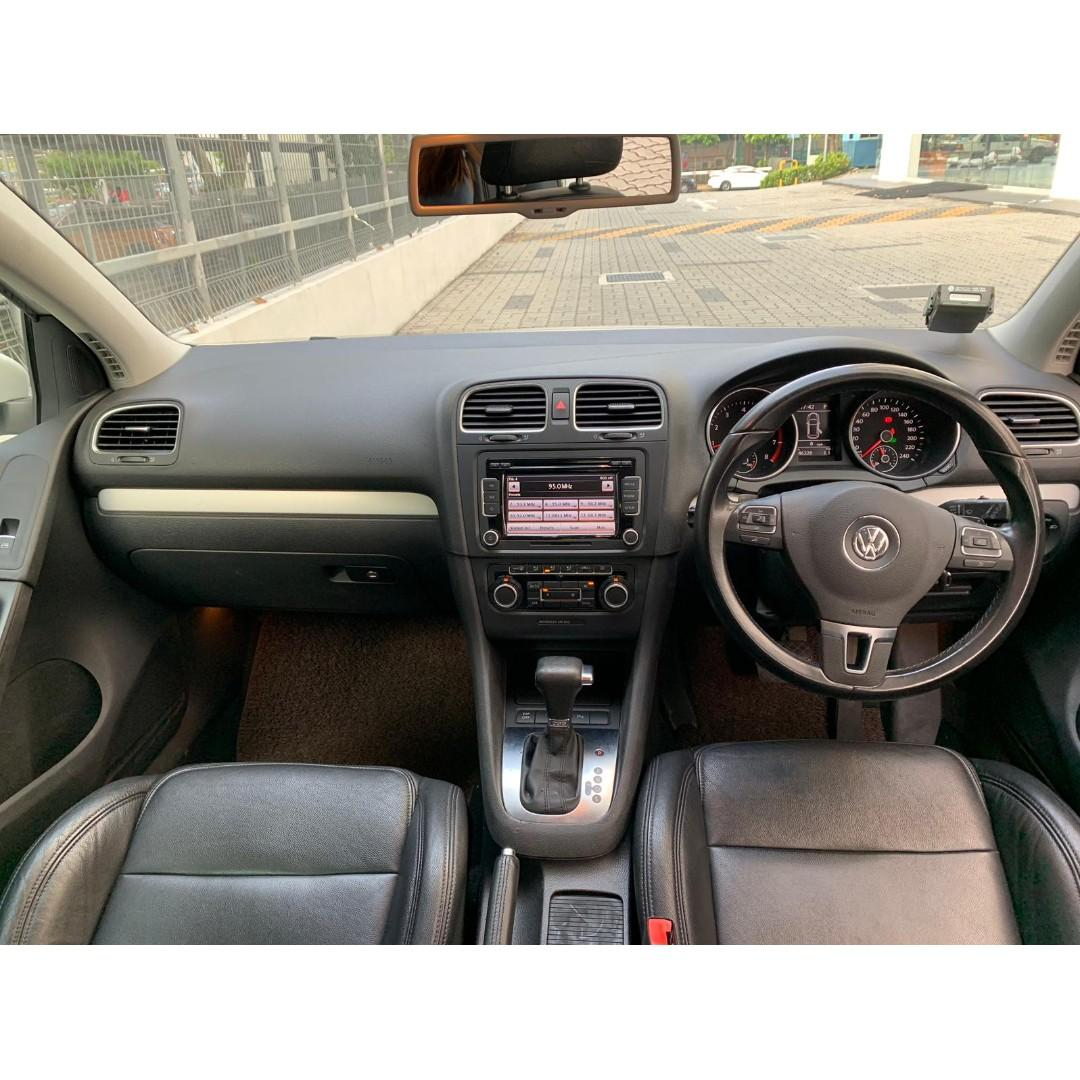 Volkswagen Golf 1.4A In good condition/Personal Use PHV Grab Go Jek