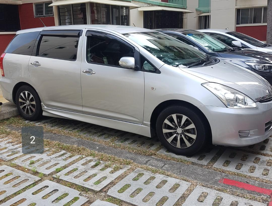 Toyota Wish / Honda Stream for rent