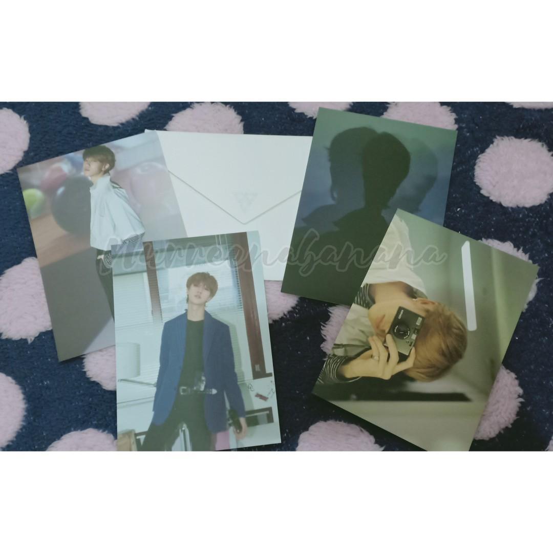 WTS Seventeen The8 Minghao Director's Cut Postcard Set