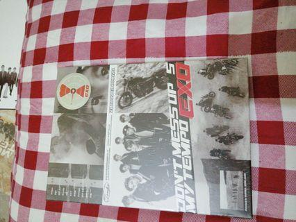 ( SEALED ) EXO DON'T MESS UP MY TEMPO ( ALLEGRO )