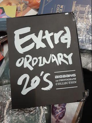 EXTRA ORDINARY 20's BIGBANG 1st PHOTOGRAPH COLLECTION