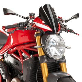 Puig Touring Screen For Ducati Monster 1200R (2016-2019)