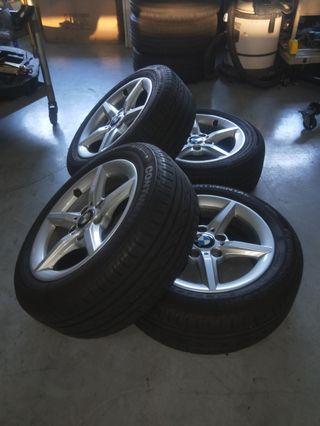 """Bmw 16"""" rims n tyres"""