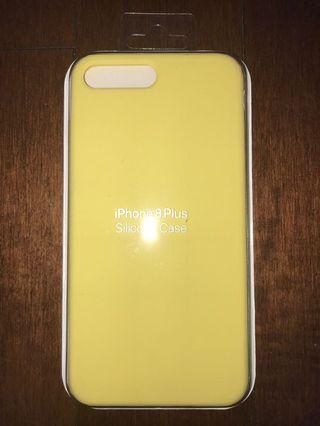 iPhone 6/7/8 Plus yellow silicone case