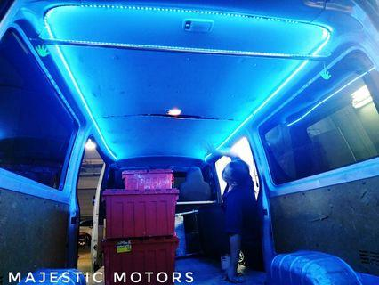 Hiace rear full cabin light