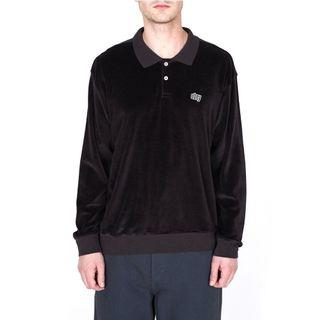 Obey Saucer Polo Long Sleeve Shirt