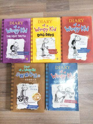 Dairy Of A Wimpy Kids