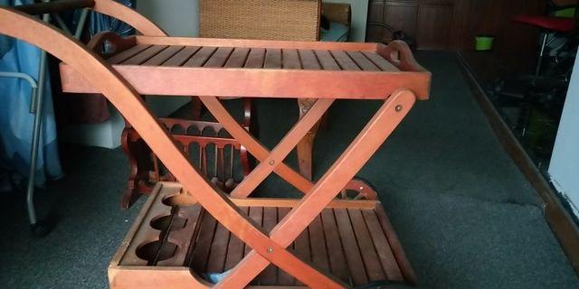 Wine Rack / shelf / trolley with wheels