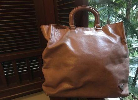 Quick sale Prada leather bag