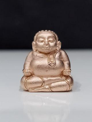Sangkachai roop lor (rose gold) Lp pong Wat jaeng Be 2562