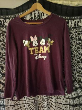 Disney long sleve top