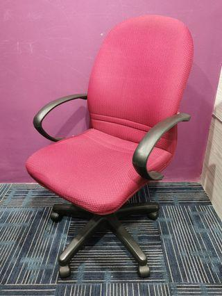 Office Chair Red Adjustable