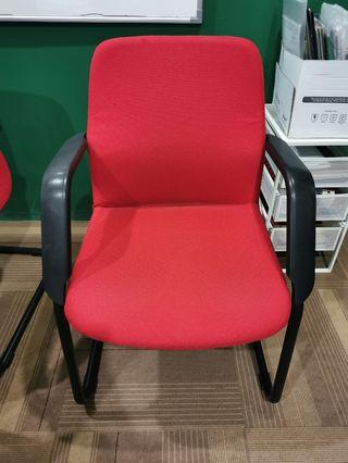 Armchair Arm Chair Office Chair Red