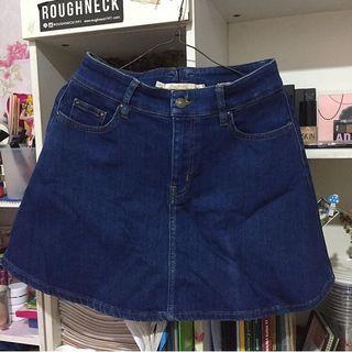 rok zara jeans