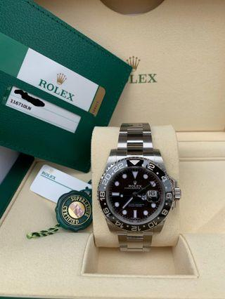 Rolex GMT Master II Black Discontinued and Brand New