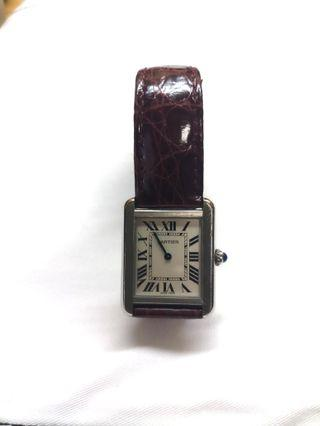 Sold! Cheapest in Carousell! Cartier Tank Solo ladies watch