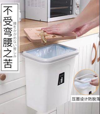 Creative Trash Cans Cabinet Door Hanging Waste Bins Dustbin